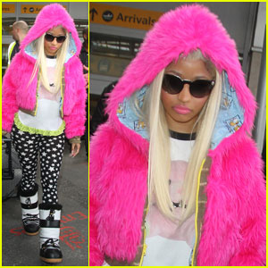 Celebrity Fur Coat - Nicki Minaj