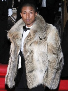 Mens Fur Coat - Pharrell Williams
