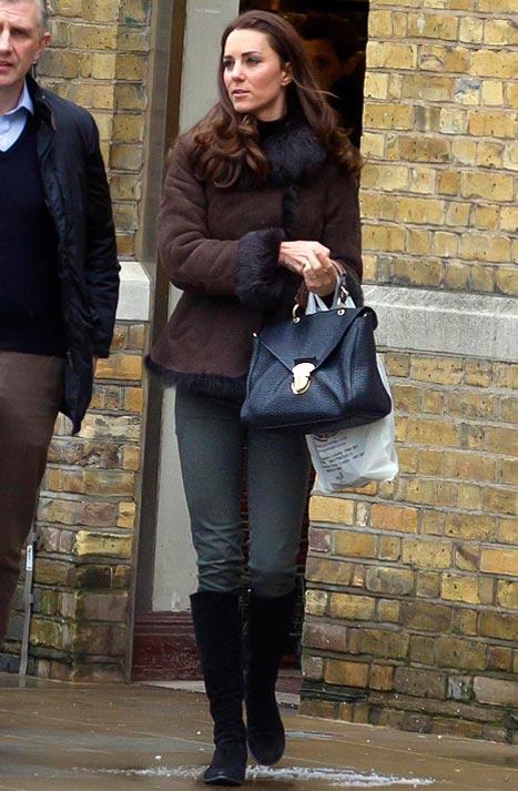 kate middleton fur coat