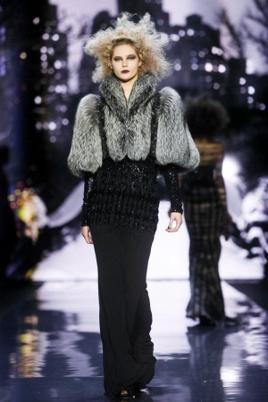 Badgley Mischka Fall Fur 2012