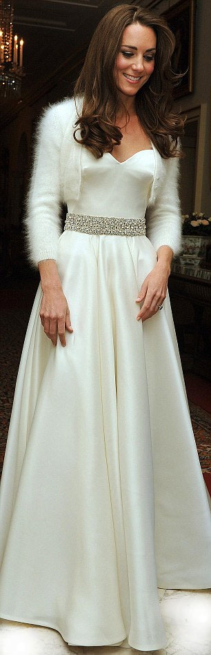 Catherine, Duchess of Cambridge wedding dress