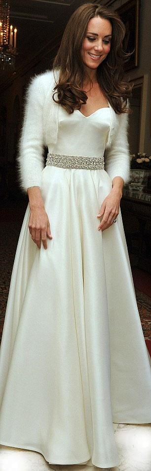 Catherine, Duchess of Cambridge wedding dress